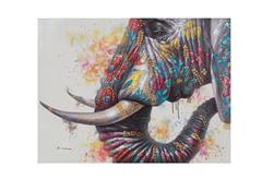 ΚΑΜΒΑΣ ΖΩΓΡΑΦΙΚΗΣ ELEPHANT PORTRAIT 80X60CM