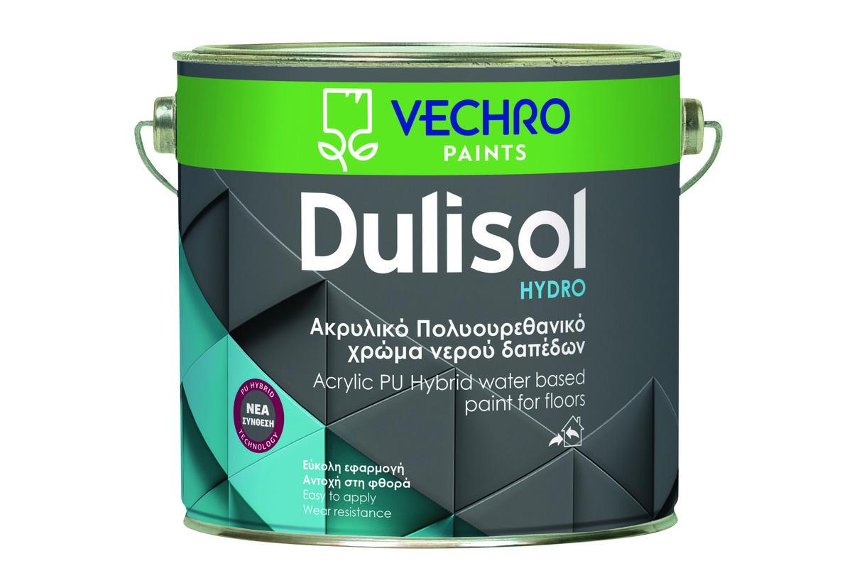 ΧΡΩΜΑ ΔΑΠΕΔΩΝ VECHRO DULISOL HYDRO 2,5LT ΓΚΡΙ