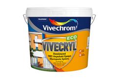 ΧΡΩΜΑ VIVECHROM VIVECRYL ECO ΛΕΥΚΟ 0,75LT