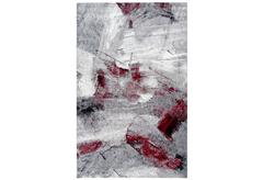 ΧΑΛΙ ESTIA HEATSET 160X230CM (7449-GREY/RED)