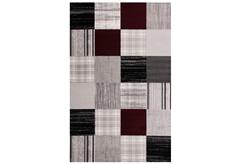 ΧΑΛΙ ESTIA HEATSET 160X230CM (1694-GREY/RED)