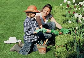Φτιάξτε κήπο για τα παιδιά σας