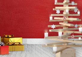 Χριστουγεννιάτικο δέντρο από ξύλο