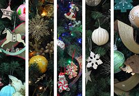 """5 ιδέες για να """"ντύσεις"""" το Χριστουγεννιάτικο δέντρο σου!"""