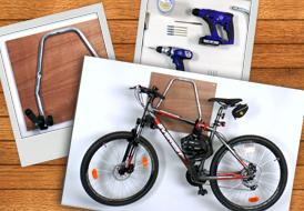 Έξυπνη κατασκευή αποθήκευσης ποδηλάτου!