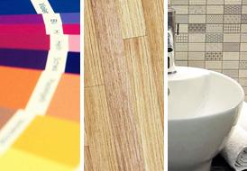 Ανακαινίζοντας χρώμα - πάτωμα - μπάνιο