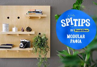 Πώς να φτιάξω Modular Ράφια με #spitips!